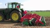 AGRO-MASZ Brona Talerzowa BT50 praca w polu