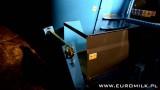 Wóz paszowy RINO FXL 800 z hydraulicznym przedłużeniem taśmy wysypowej
